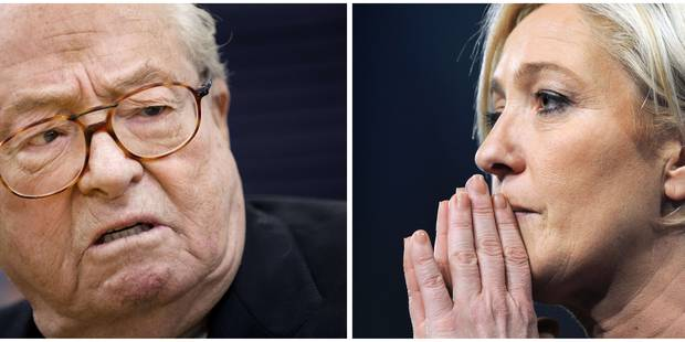 Troisième victoire judiciaire de Jean-Marie Le Pen contre sa fille - La DH