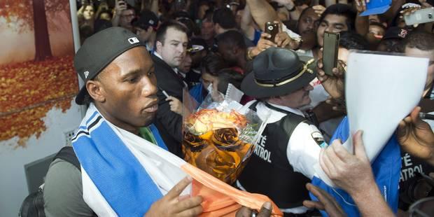 Didier Drogba filme son arrivée en héros à Montréal ! - La DH