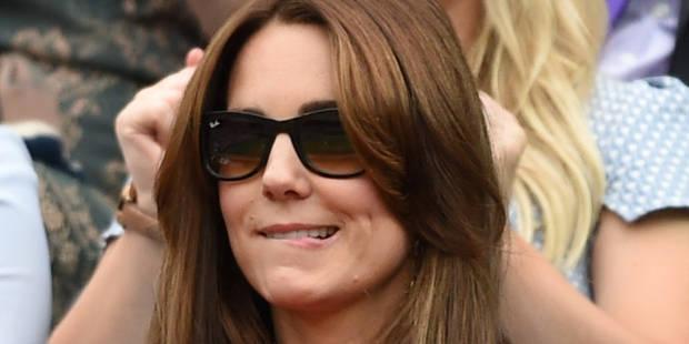 Kate Middleton critiquée pour ses cheveux blancs et interdite de pantalon - La DH