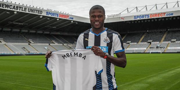Feu vert de la f�d�ration anglaise pour Mbemba � Newcastle