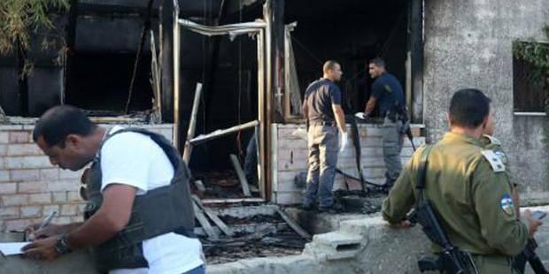 Un bébé palestinien brûlé vif, crainte d'un regain des tensions - La DH