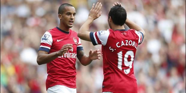 Walcott et Cazorla prolongent à Arsenal - La DH