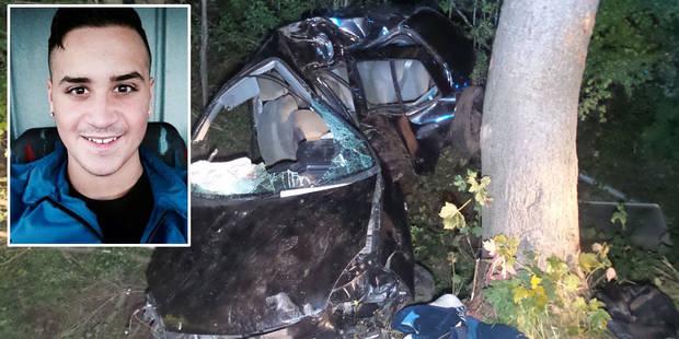 Dramatique accident à Grand-Reng: Nicolas (20 ans) se tue en rentrant de soirée - La DH