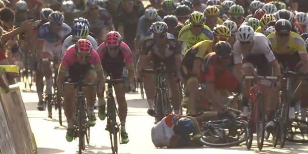 Chute spectaculaire au Tour de Pologne (VIDEO) - La DH