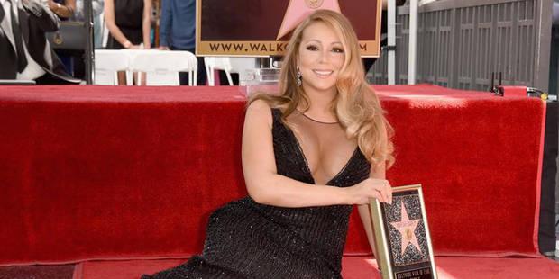 Mariah Carey obtient son étoile sur la Walk of Fame (PHOTOS) - La DH