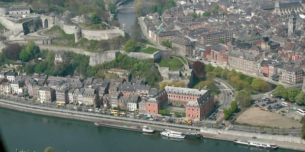 Vol par ruse en plein centre de Namur - La DH