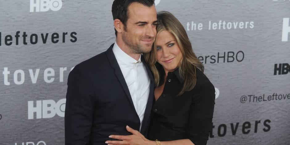Jennifer Aniston et Justin Theroux se sont mariés