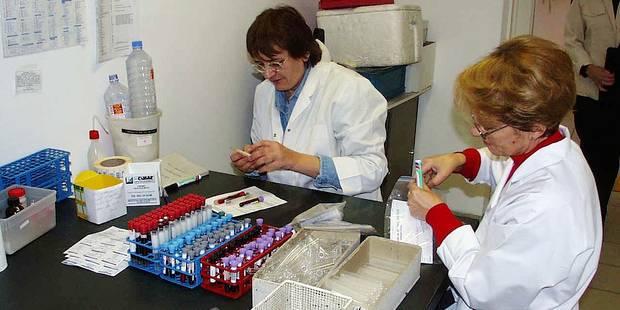 Un labo d'analyse médicale dans la gare de Namur - La DH