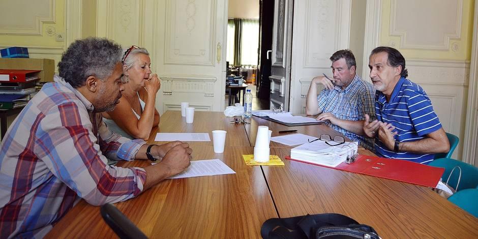 """Arrivée de migrants à Tournai: """"Informer la population pour dédramatiser"""" - La DH"""