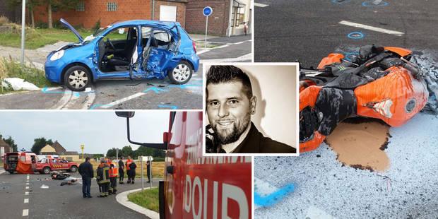 Un motard de 32 ans perd la vie à Dour (PHOTOS) - La DH
