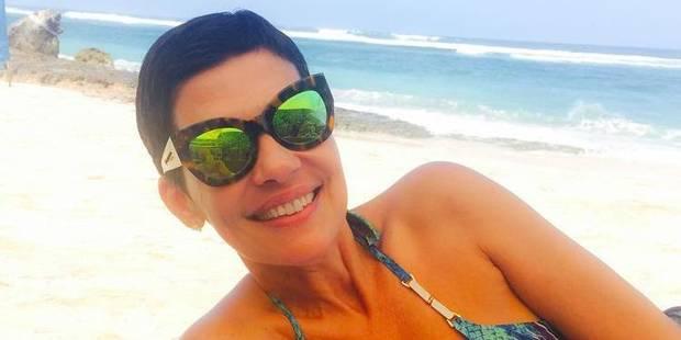Cristina Cordula met le feu à la plage... et à Instagram (PHOTO) - La DH