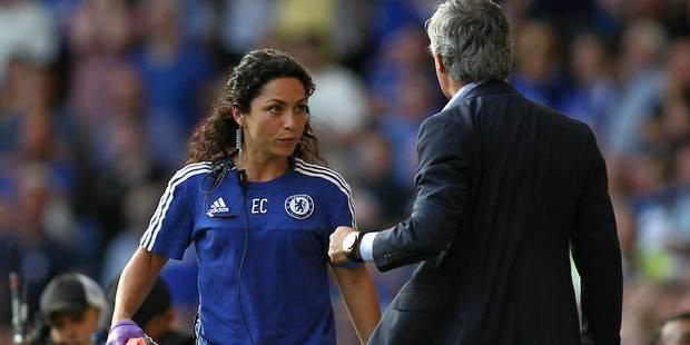 Eva Carneiro, la médecin de Chelsea, écartée par Mourinho