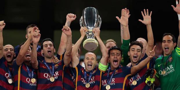 Le Barça remporte la Supercoupe d'Europe au terme d'un match fou (5-4): tous les buts en vidéo - La DH