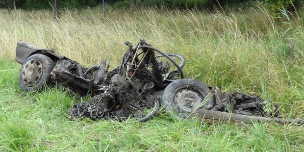 Hautrage : des carcasses de voitures remontées à la surface - La DH