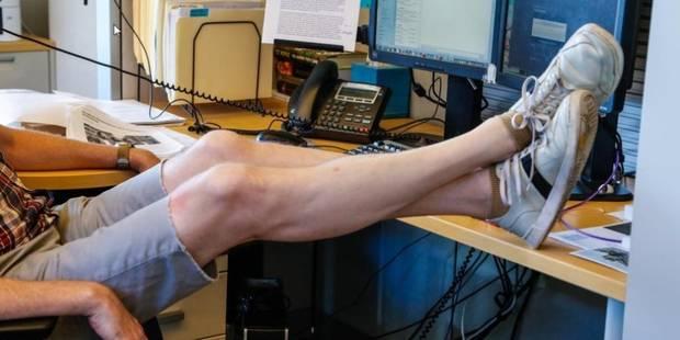 #FreeTheKnee : les hommes réclament le droit de porter un short au travail - La DH
