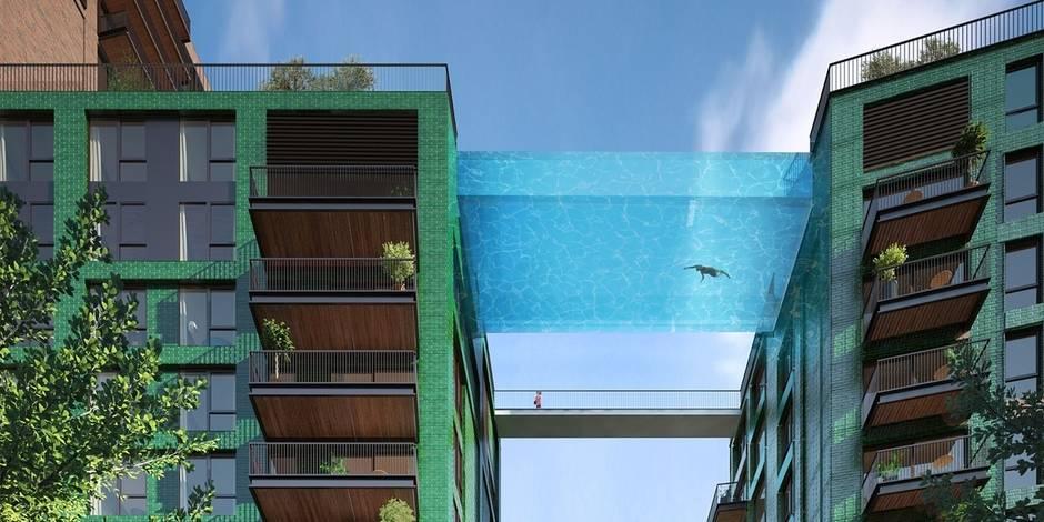 A Londres, on nagera bientôt dans les airs