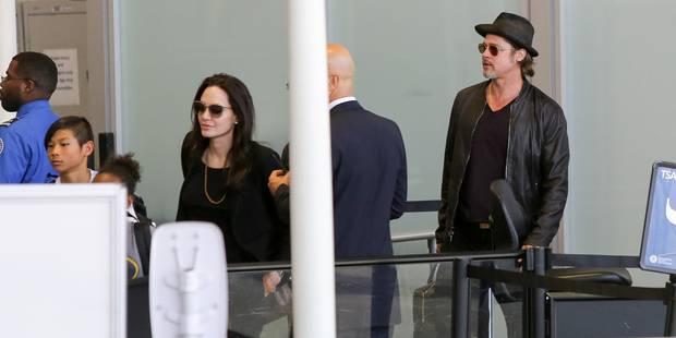 Angelina Jolie et Brad Pitt bientôt installés en Angleterre ? - La DH