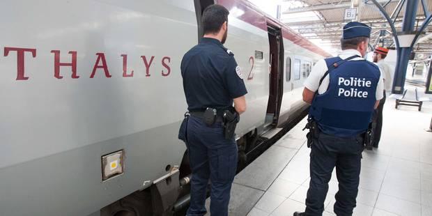 Fusillade dans le Thalys: la ministre Galant va demander plus de moyens pour assurer la sécurité sur le rail - La DH
