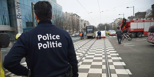 Un homme heurté par un tram à Schaerbeek - La DH