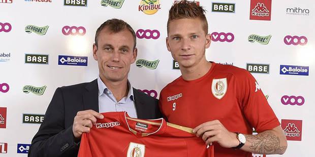 """Le Standard """"fier d'avoir pu transférer le meilleur buteur belge"""", mais n'a toujours pas de coach - La DH"""