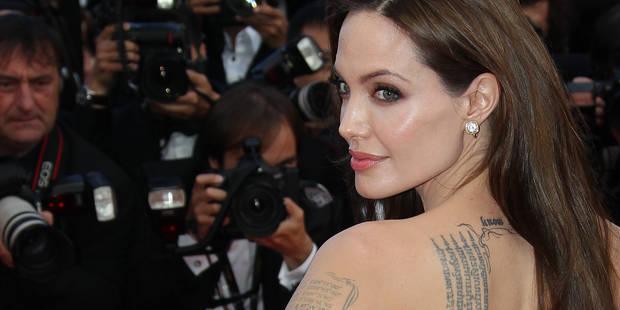 Des photos d'Angelina Jolie nue et entravée refont surface - La DH