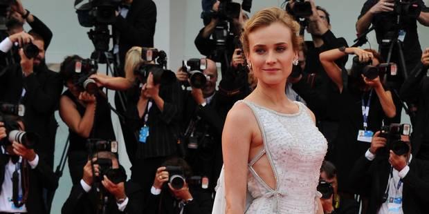 Diane Kruger enflamme Venise - La DH