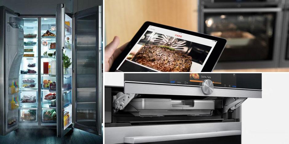 la maison du futur voici la cuisine 2 0 photos. Black Bedroom Furniture Sets. Home Design Ideas