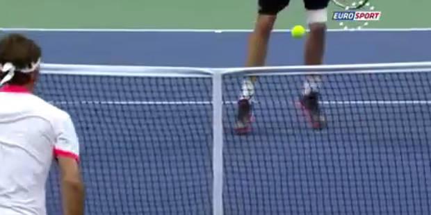 US Open: la magnifique volée rétro de John Isner - La DH