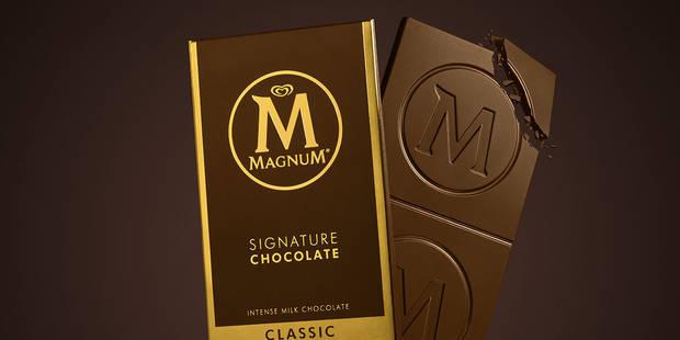 Après les glaces, Magnum se lance dans le chocolat - La DH
