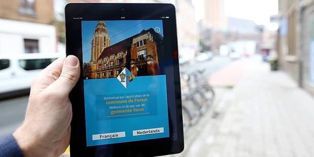 Forest: la première appli mobile communale est lancée ! - La DH