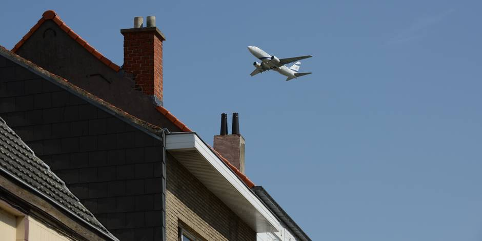 Le MR propose une taxe frappant chaque avion survolant Bruxelles (Infographie)