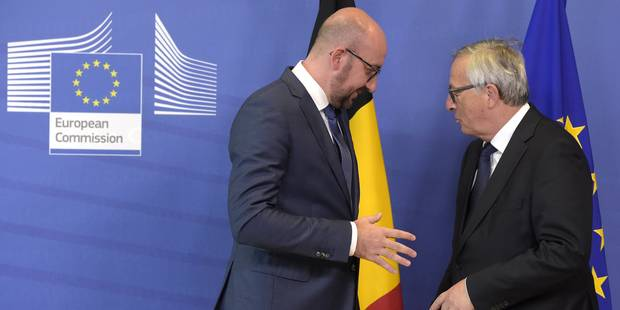 "Migrants: Charles Michel demande à Juncker de ""tenir compte des efforts déjà consentis"" - La DH"