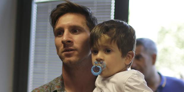 Lionel Messi, papa pour la deuxième fois - La DH