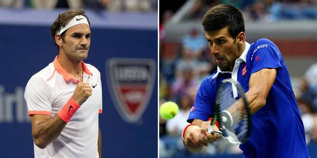 US Open: Federer et Djokovic en démonstration - La DH