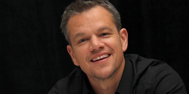 Matt Damon veut voyager dans l'espace! - La DH
