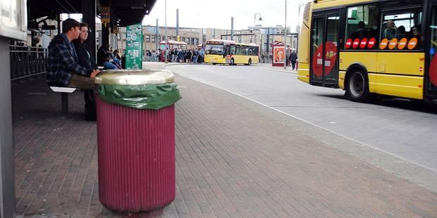 Charleroi: poubelles hors service par manque de sac ! - La DH