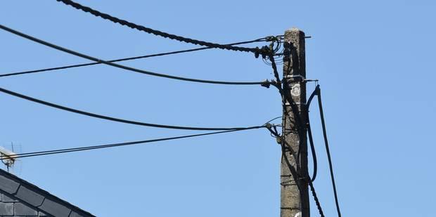 Importante panne d'électricité à Verviers