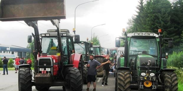 Les agriculteurs manifestent ce mercredi à Namur - La DH