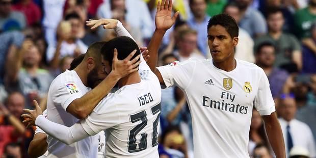 Liga: Benzema porte un Real poussif - La DH