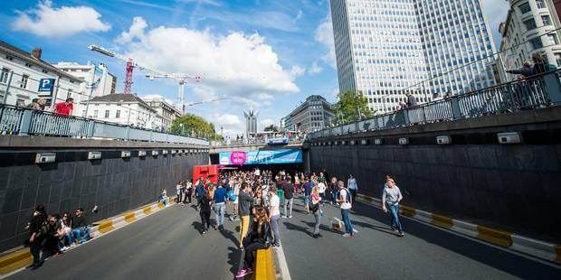Dimanche sans voiture à Bruxelles: course-poursuite avec un automobiliste à Botanique - La DH