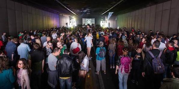 La première Tunnel Party de Bruxelles a cartonné! (VIDEO) - La DH