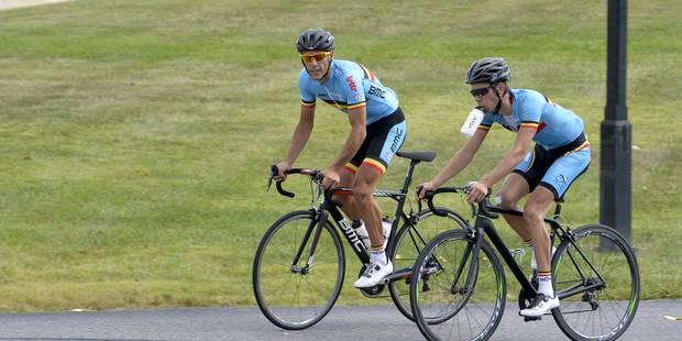 Mondiaux de cyclisme: entraînement de 3h30 à Richmond pour les Belges - La DH