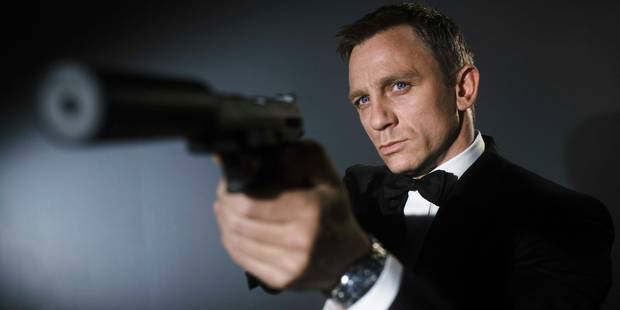 """Daniel Craig est le plus """"soiffard"""" des 007 - La DH"""
