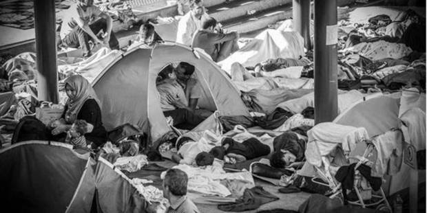 """""""Le baiser des réfugiés syriens"""" fait le buzz sur les réseaux sociaux - La DH"""