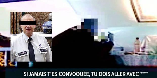 Un policier en flagrant délit de corruption: la vidéo accablante - La DH