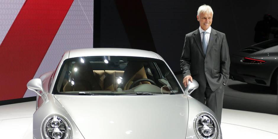 Matthias Müller devient le nouveau patron de VW