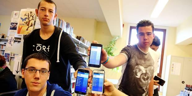Les horaires de cours sur le smartphone - La DH