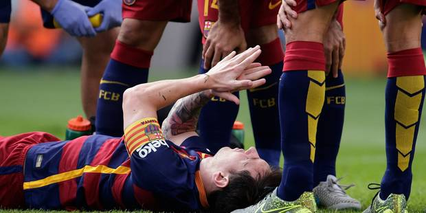 Coup dur pour le Barça: Messi absent 7 à 8 semaines (VIDEO) - La DH
