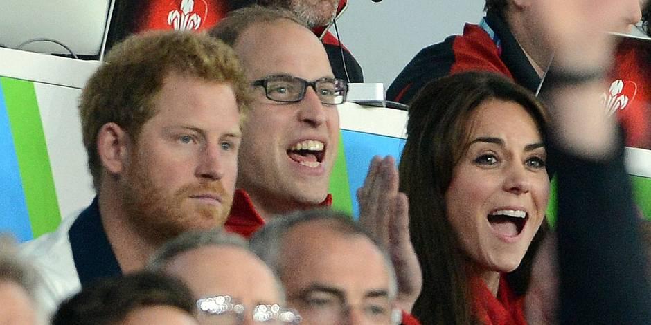 Prince Harry versus William et Kate Middleton : 0-1