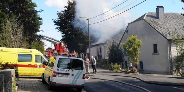 Tenneville: Joseph Magonette, 80 ans, meurt dans l'incendie de sa maison (VIDEO) - La DH